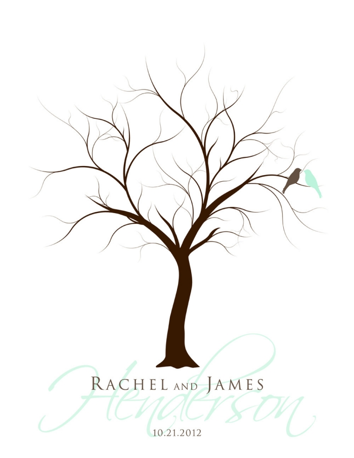 quelle couverture pour un album photo scrapbooking à thème mariage, oiseaux et arbre symboles d'amour