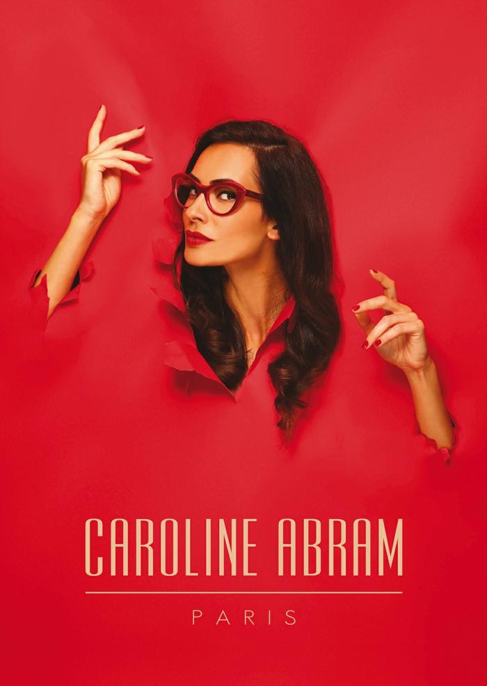 lunette papillon, quelle lunette pour quel visage, monture rouge et noir en plastique, opticien Caroline Abram, Paris
