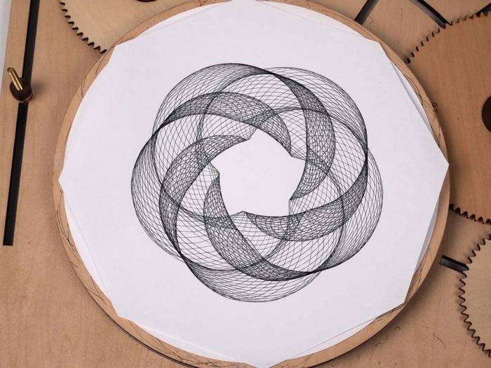 Beau dessin géométrique animaux dessins faciles à dessiner cercle