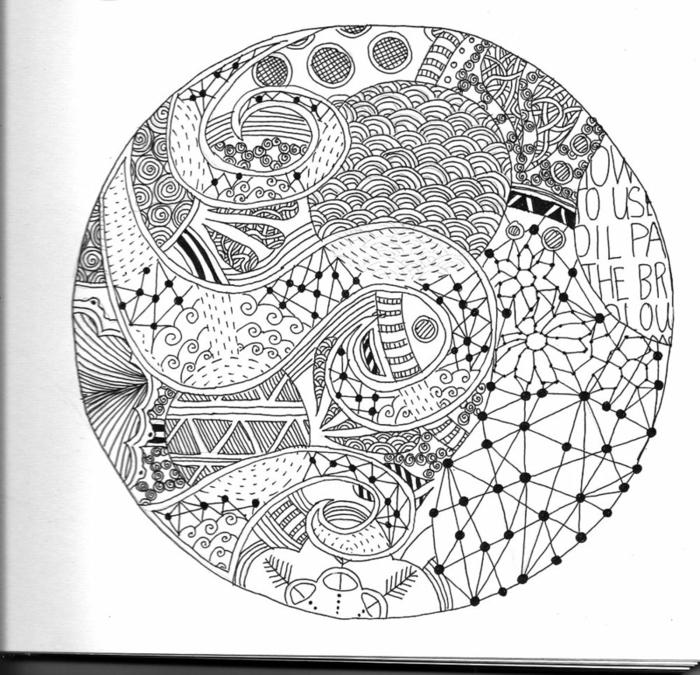 Construction géométrique dessin de géométrie idée cercle