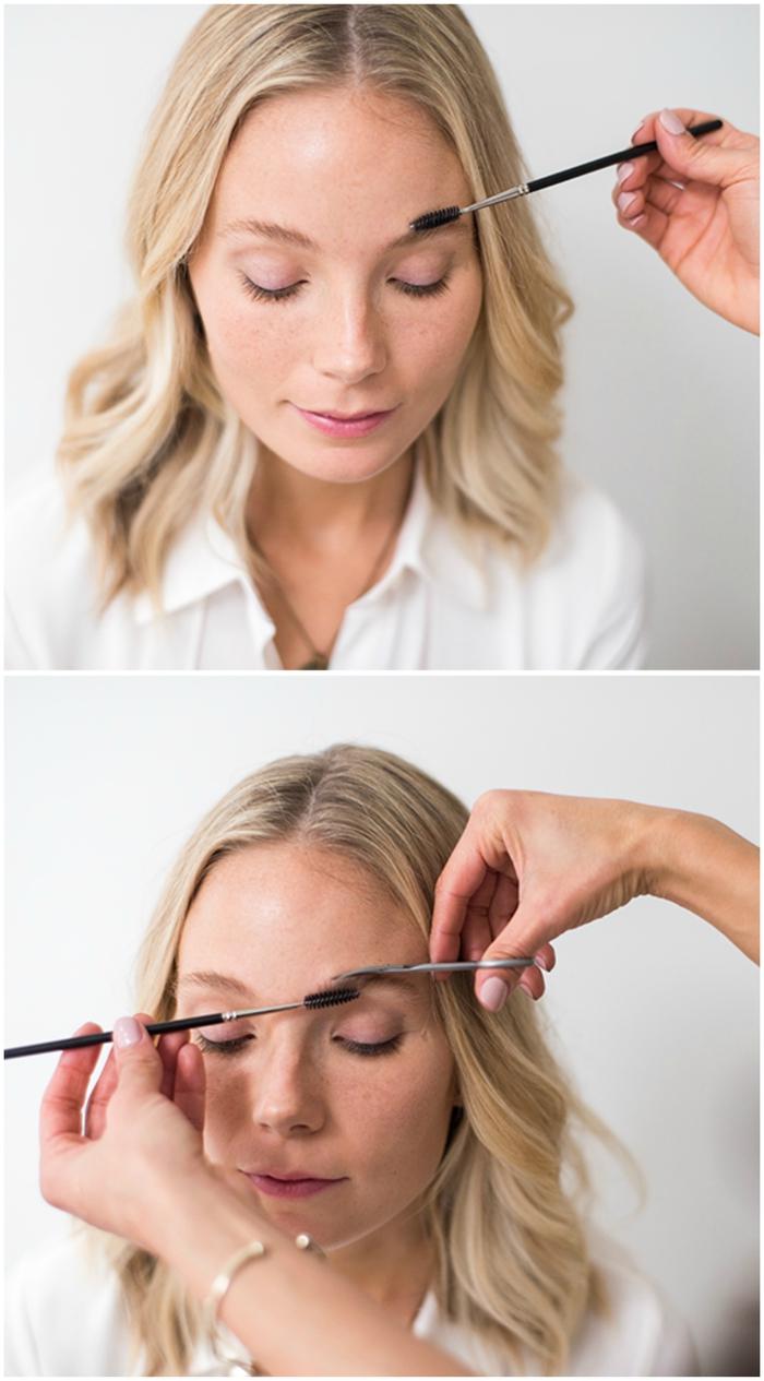 comment déterminer la forme sourcil parfait pour notre visage et notre regard, tout savoir sur l épilation et le maquillage des sourcils
