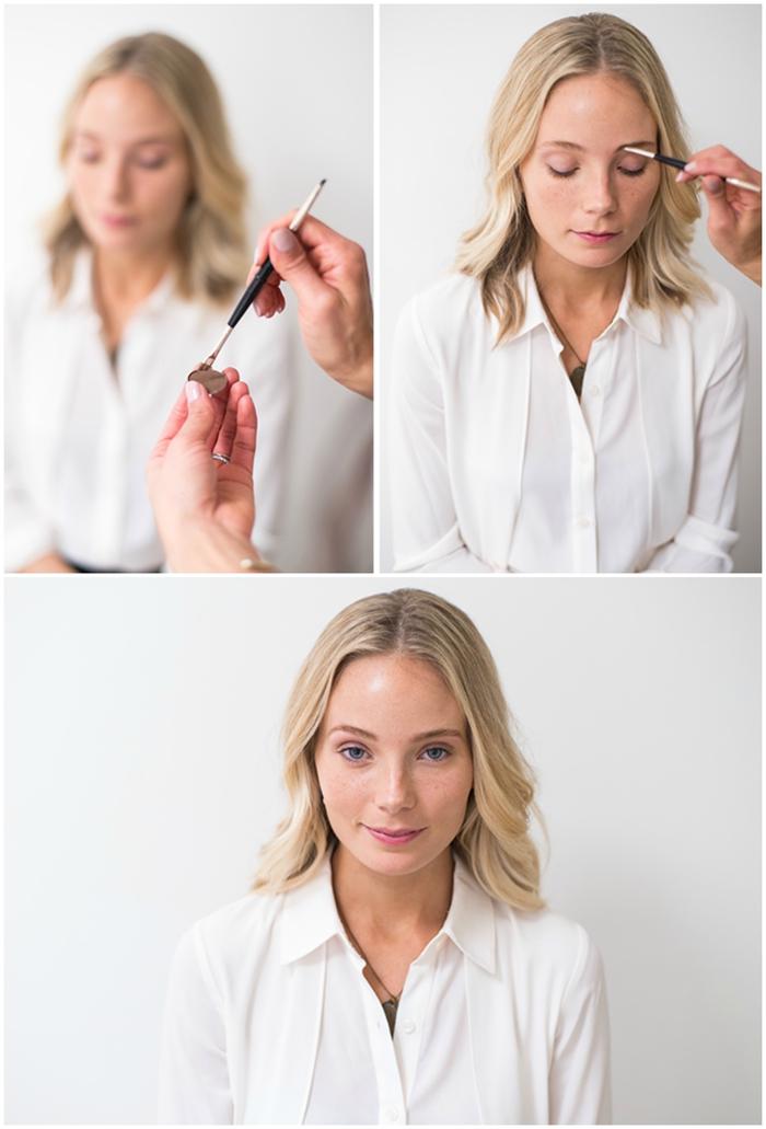 la routine beauté et le maquillage sourcils blonds parfait pour un contour bien défini mais naturel