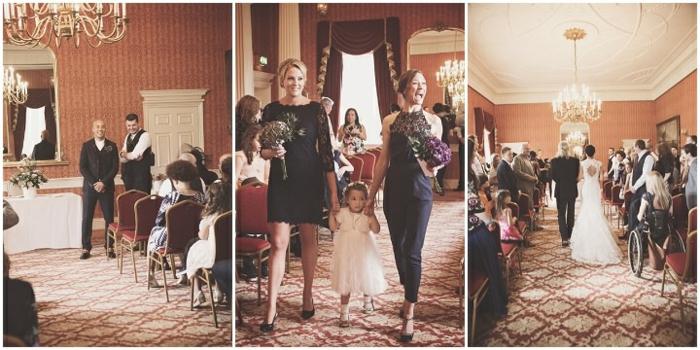 Blanche robe princesse fille mariage robe cérémonie bébé fille