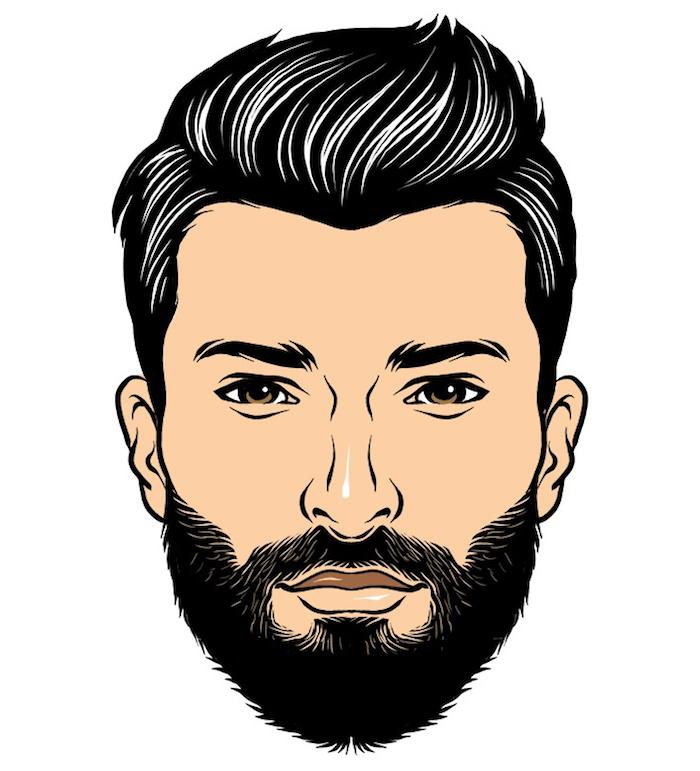 quel style de barbe moyenne homme barbu mi long