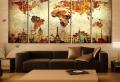 Décoration murale salon – l'esthétisme à différentes échelles
