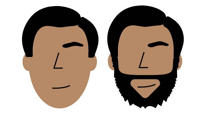 1001 id es un style de barbe au poil pour chacun - Barbe visage ovale ...