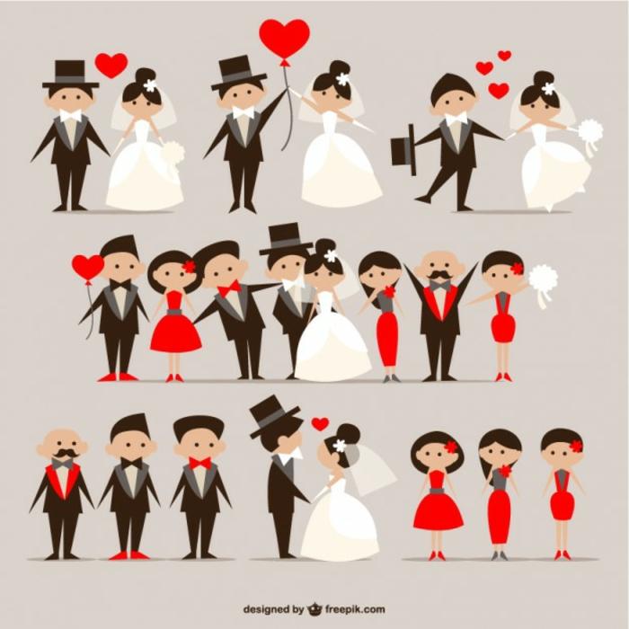 Image de mariage dessin de mariage amour mariage dessin
