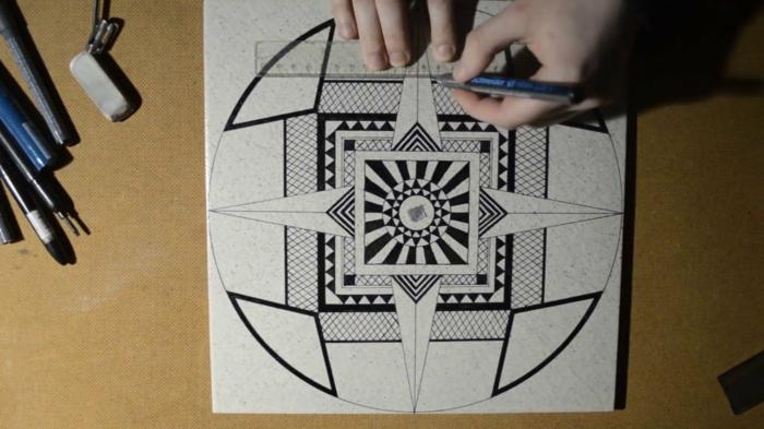 Idée dessiner des figures géométrique comment dessiner optique