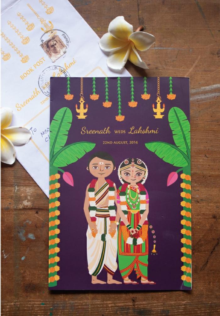 Ton image drole mariage personnalisée illustration couple