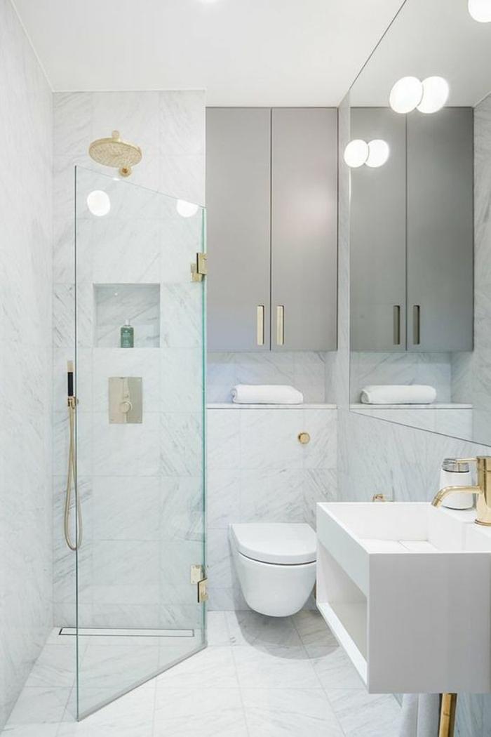 1001 id es pour une salle de bain 6m2 comment r aliser for Comment amenager une petite salle de bain et wc