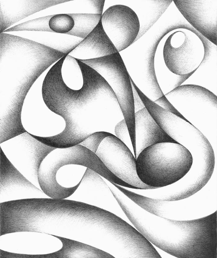 Facile dessin géométrique facile idée comment dessiner graphite