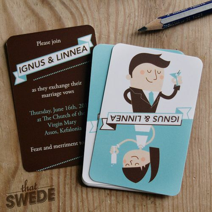 Amour illustration mariage idée dessin pour un mariage cartes de jeu idée simple