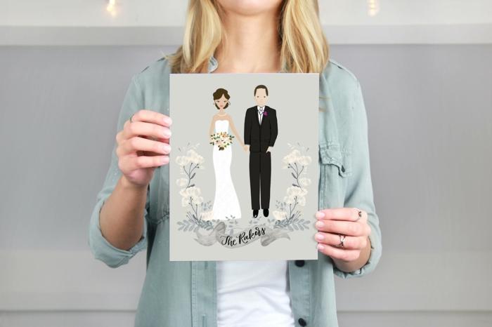 Cool illustration livret de messe mariage image mariage
