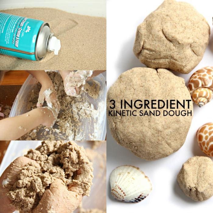 recette facile de sable kinetic avec seulement trois ingrédients pour une expérience sensorielle inoubliable