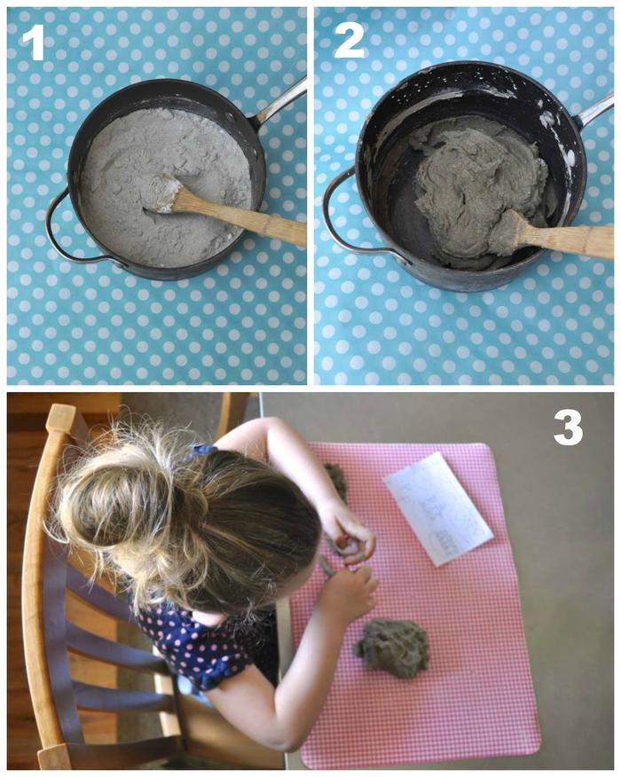 recette de sable cinétique qui dure longtemps, idéal pour la construction d'un château de sable à la maison