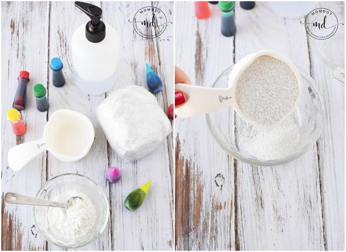 recette facile de sable a modeler avec des ingrédients de base