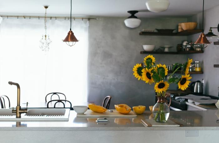 repeindre sa cuisine quelles couleurs et quels effets obsigen. Black Bedroom Furniture Sets. Home Design Ideas
