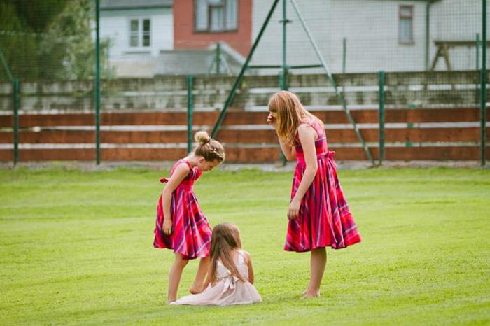 Kaki robe petite fille d'honneur robe demoiselle d'honneur fille 5 ans