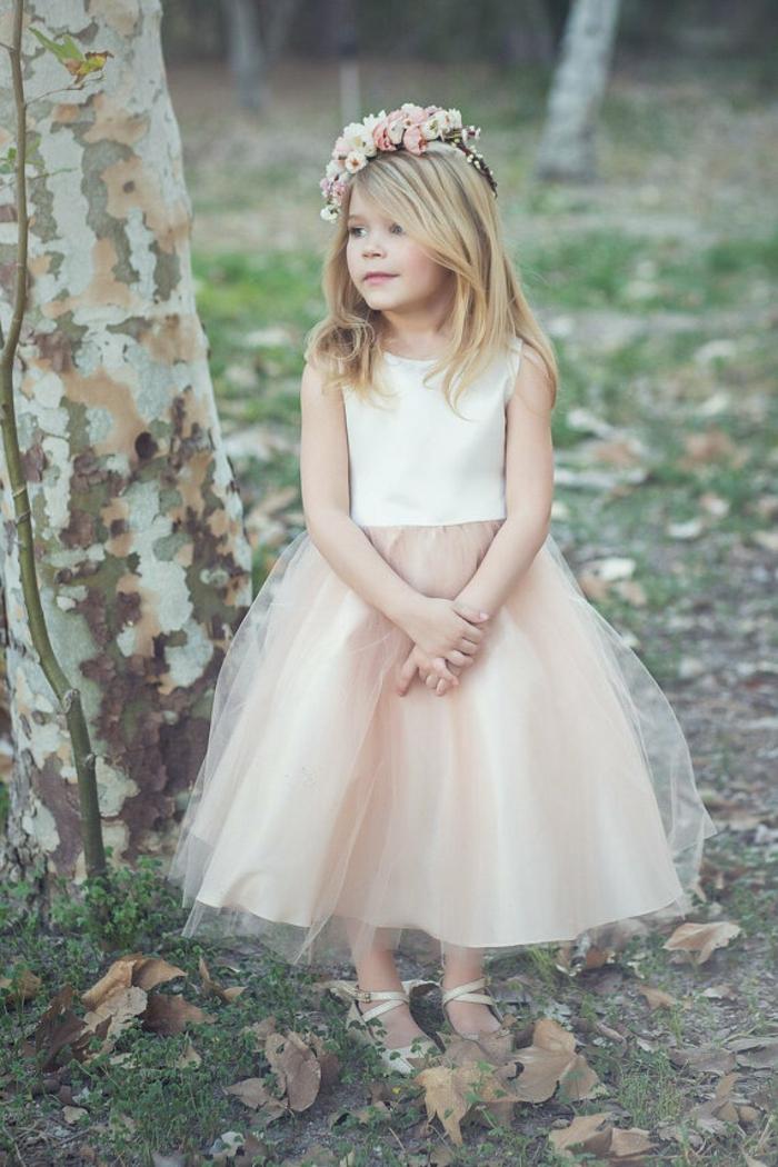 Ootd mariage robe ceremonie fille jupe balerina robe de demoiselle d honneur