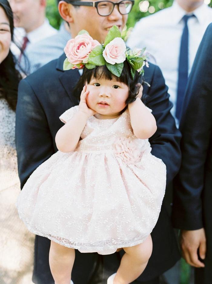 Robe ceremonie enfant tenue bapteme petite fille robe blanche longue