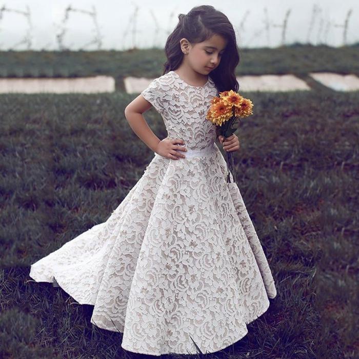 797541e4decef ▷ 1001 + idées pour la robe petite fille d honneur pour choisir la ...
