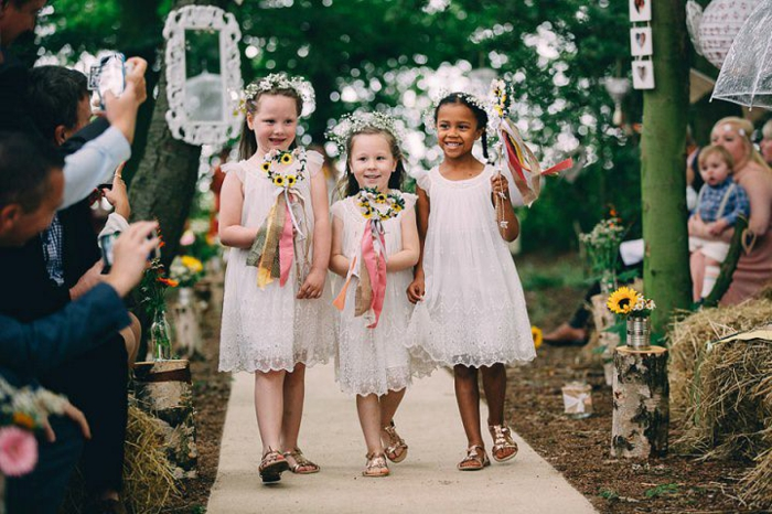 Robe de fete fille robe mariage petite fille robe stylée pour une petite fille