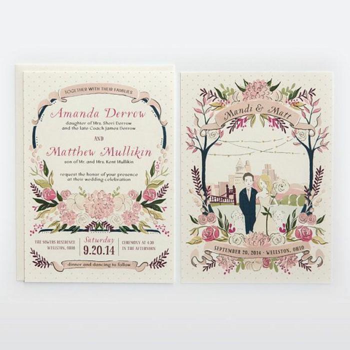 Image de mariage dessin de mariage amour mariage dessin idée invitation mariage mignon avec illustration couple