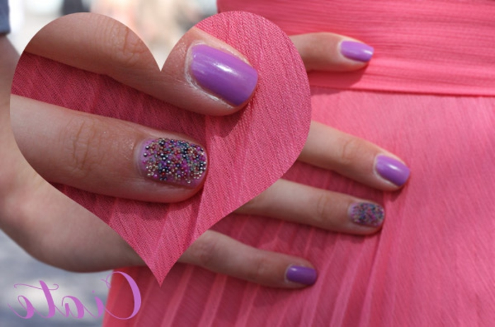 Idee vernis semi permanent ongle gel modele ongles actuel