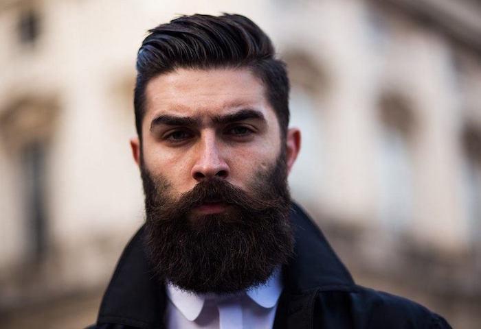 longue type de barbe hipster homme barbes longues épaisses