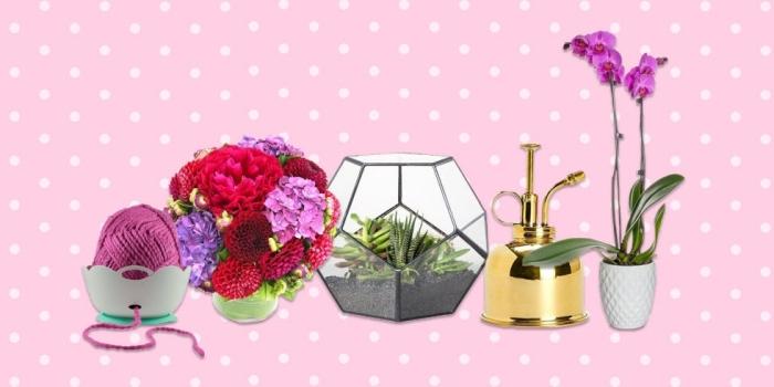idee cadeau fete des grand mere, accessoires et objets décoratifs pour l'intérieur aux finitions métalliques et dorées