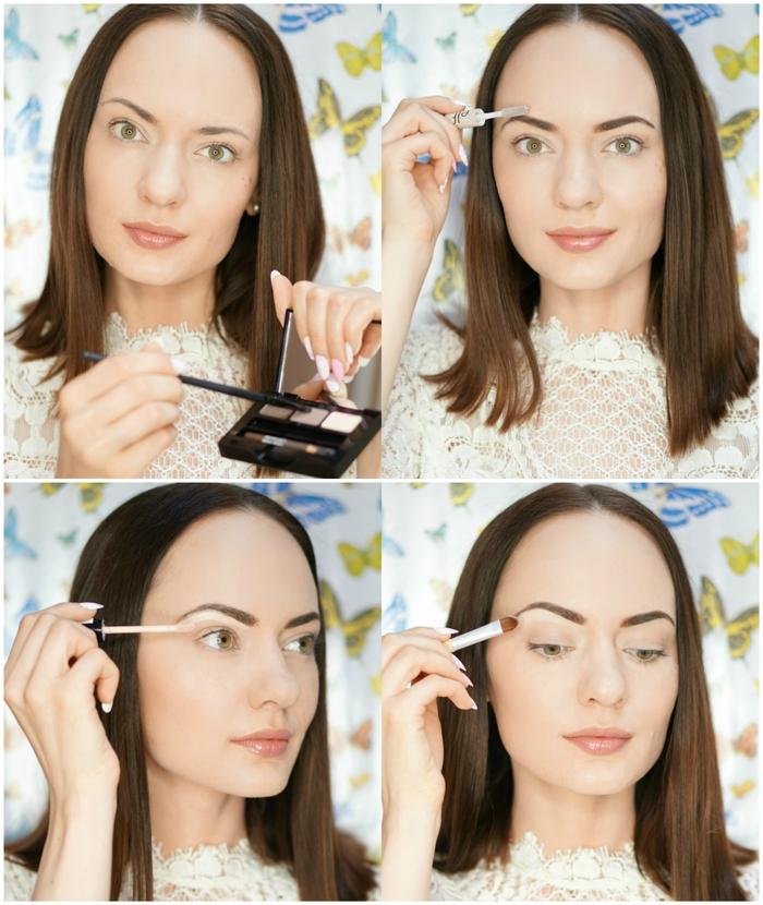 comment épiler et maquiller ses sourcils, conseil maquillage et routine beauté pour des sourcils bien structurés