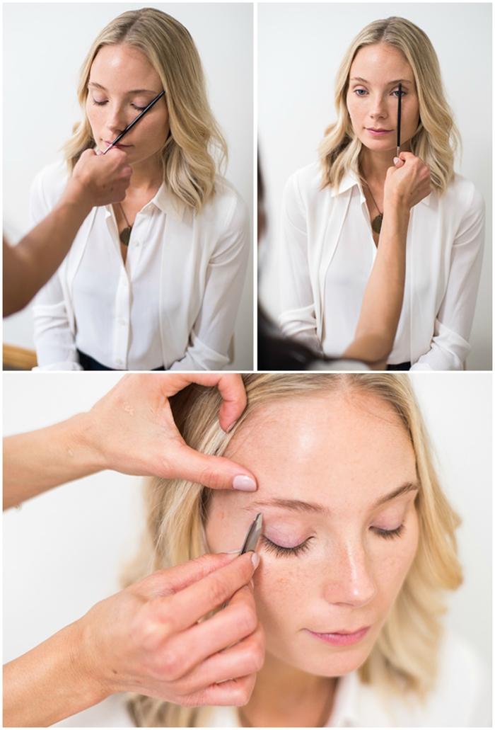 conseils épilation et maquillage pour avoir des sourcils parfaits adaptés à la forme du visage et au regard