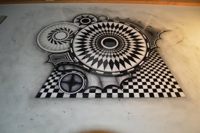 Les dessins géométriques idée comment dessiner lignes