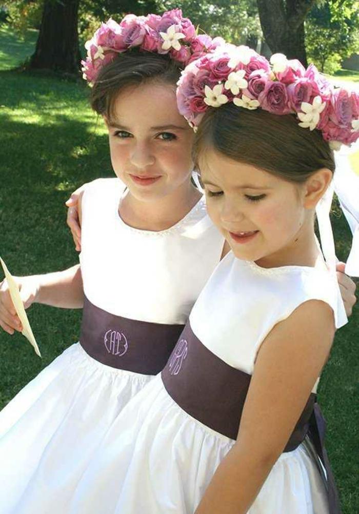Robe ceremonie fille robe petite fille d honneur ceremonie robe pour filles