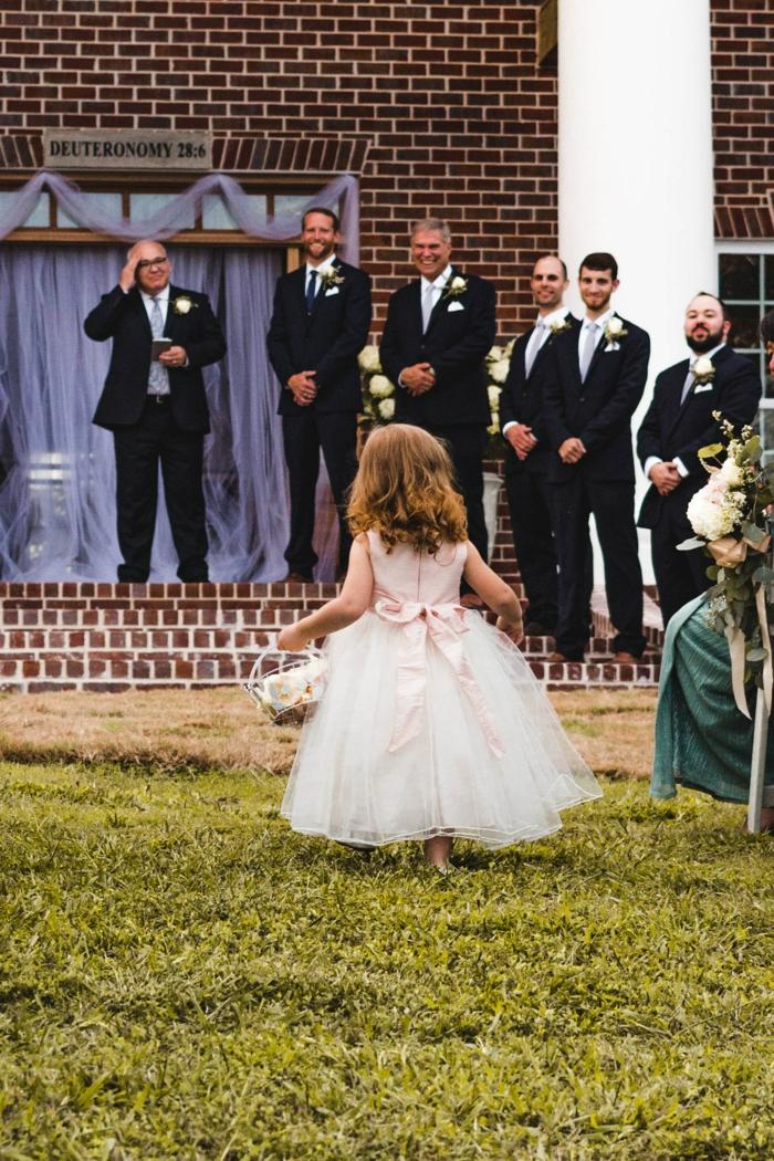 Tenue de soirée petite fille robe de bapteme princesse robe petite fille d honneur mariage champetre