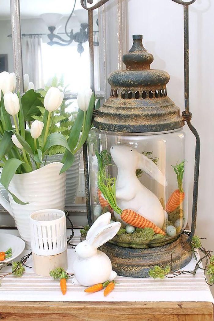 Activité de paques decoration paques facile deco table paques decoration paques facile lapin et carrots