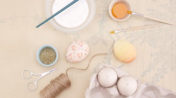 Decoration paques facile déco de Pâques idée cool pour la deco des oeufs de paques