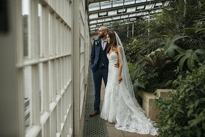 Romantique idée robe de mariée champetre robe de mariée simple tendance