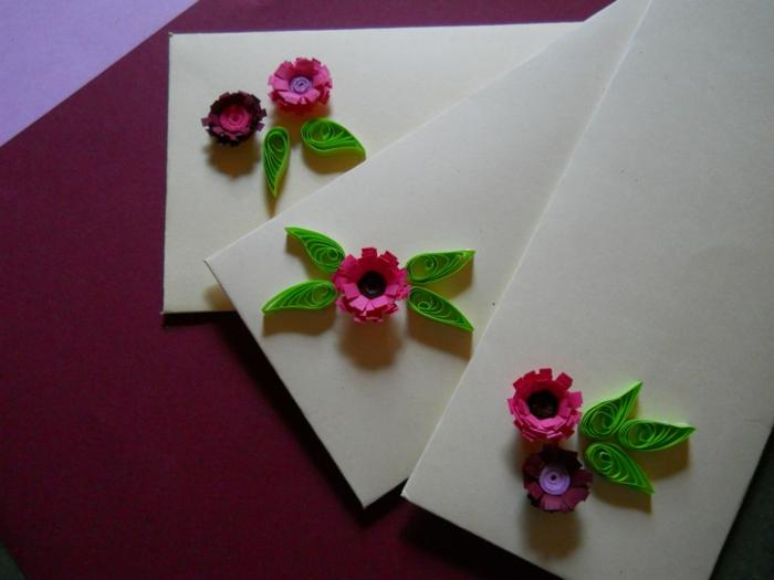 apprendre à faire le quilling pour cartes de voeux, invitations, anniversaires et autres