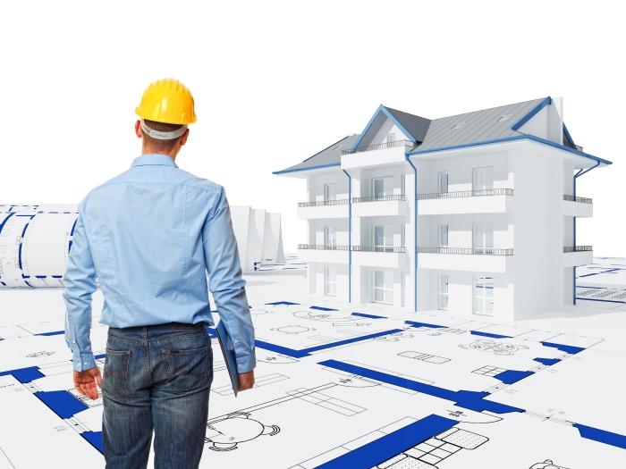 illustration et plan de construction de domicile, élaborer un rapport de travaux de construction avec modifications et remarques