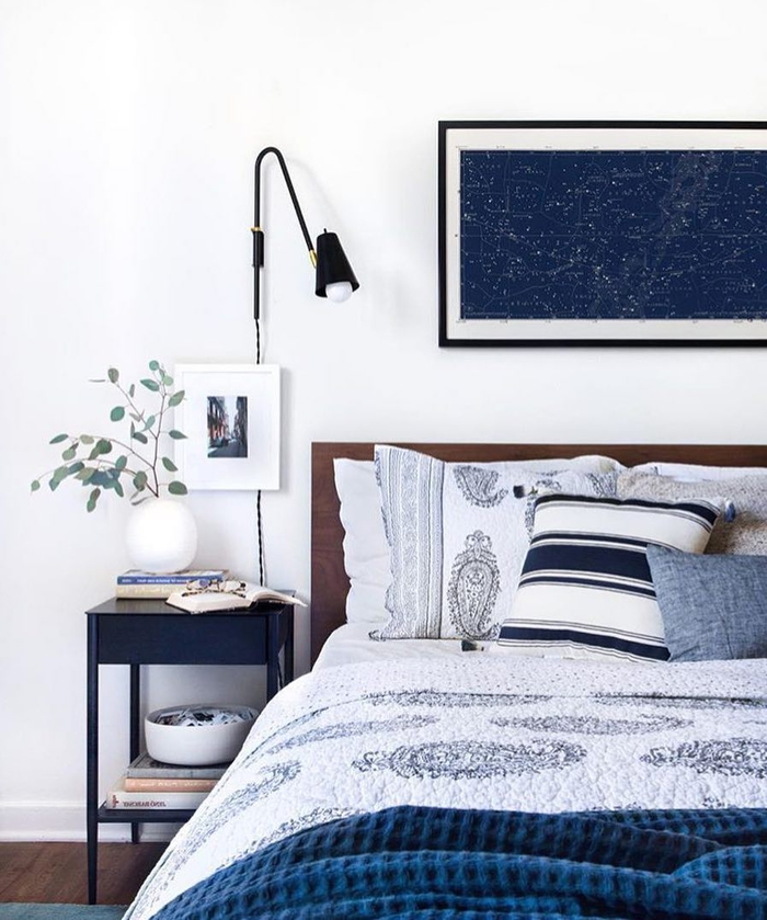 comment décorer sa chambre avec des branches d'eucalyptus comme touche végétale élégante et tendance