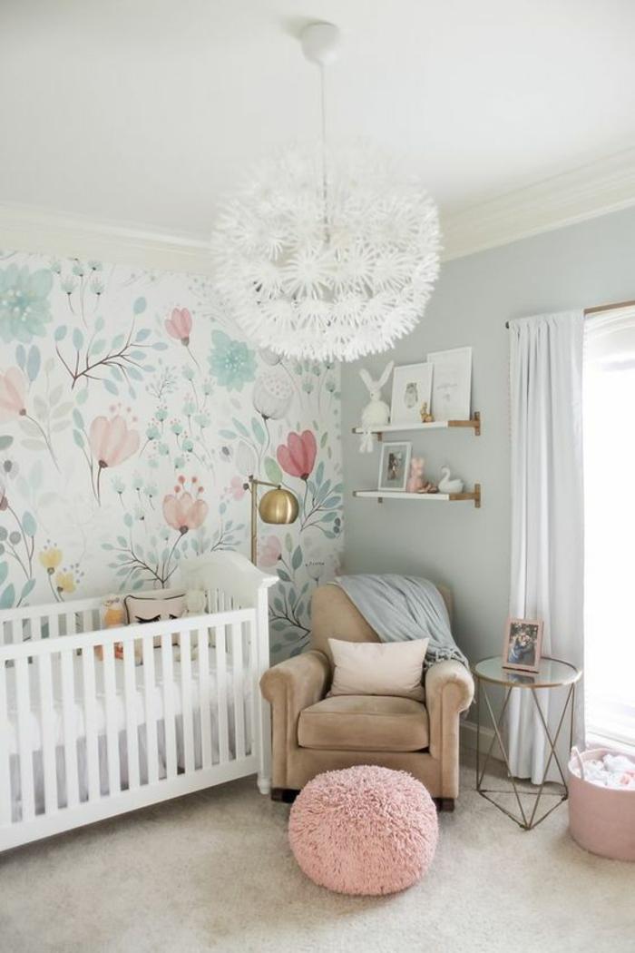 Chambre Bébé Louis : Idées pour la décoration chambre bébé fille