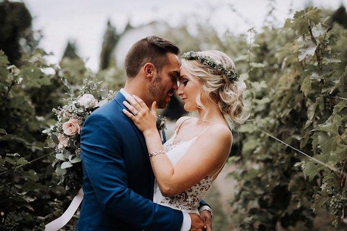 Champetre mariage robe de mariée vintage robe mariage champetre robe blanche dentelle