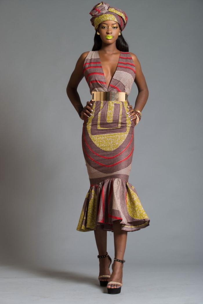 Magnifique robe de soirée africaine chic tenue de femme tenue idée