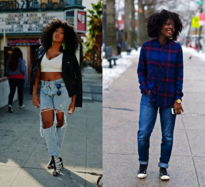 quelle coupe de cheveux afro pour mettre en valeur sa chevelure naturelle, cheveux afro seventies mi-longs