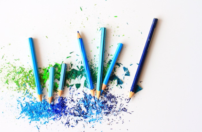 Crayons bleus fond d'écran stylé fond d'écran swagg pour fille images grand choix