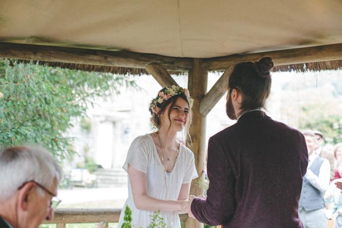 Jolie robe mariée bohème chic robe de mariée fluide mariage robe lognue