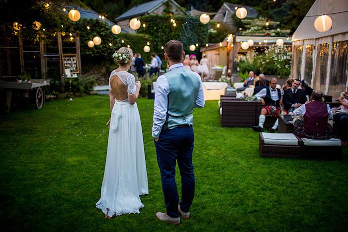 Chouette robe mariée bohème chic robe de mariée simple