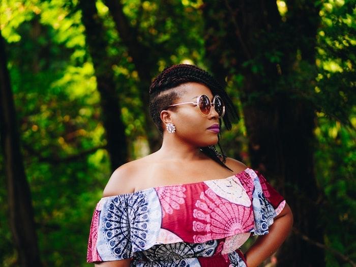 Tresses africaine modele coiffure tresse afro comment se coiffer belle coiffure tresses à côté