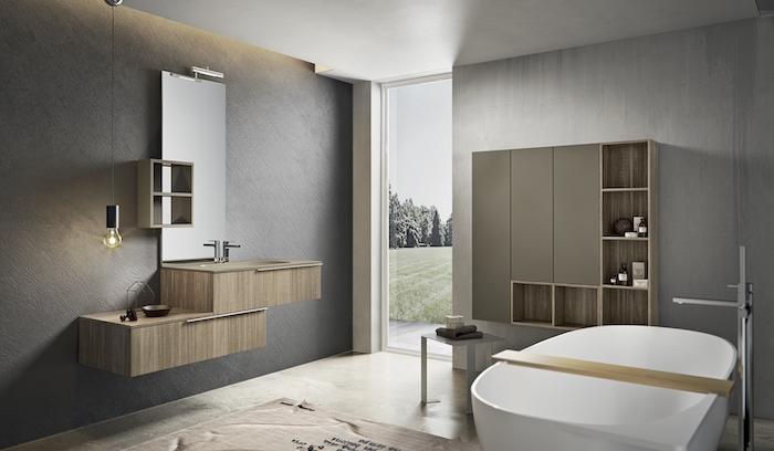 1001 id es salle de bain beige et gris pierre deviendra sable. Black Bedroom Furniture Sets. Home Design Ideas